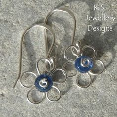 Wire Jewelry Tutorial WIRE FLOWERS 4 variations earrings &
