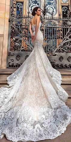 Crystal Design Wedding Dresses 2016 ❤ See more: http://www.weddingforward.com/crystal-design-wedding-dresses/ #weddings