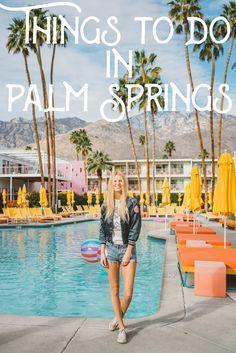 Things to do in Palm Springs!    #palmsprings #california #travel #explore #adventure #vacation #desert #midcentury #retro