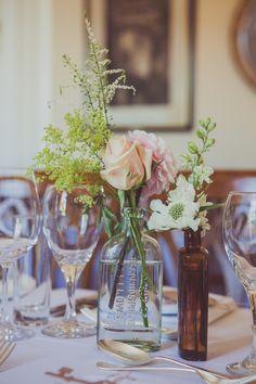 An Elegant David Fielden Wedding Dress For a Relaxed and Informal Summer's Day Wedding