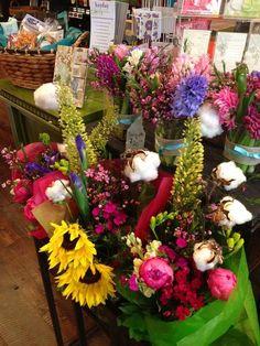 """Cotton Tail"" bouquets with Floral Cotton!"