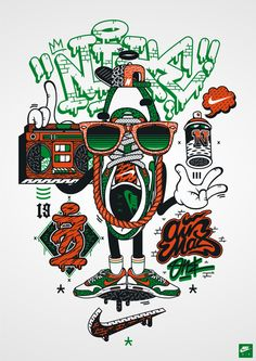 DXTR - Various Illustrations 2013 by DXTR, via Behance