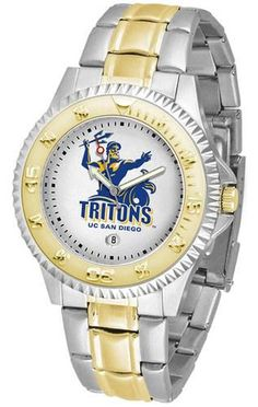 California San Diego Tritons Men's Two Tone Dress Watch