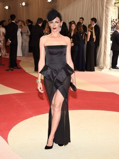 Pin for Later: 28 Celebrities Who Made Their Met Gala Debut This Year Liberty Ross