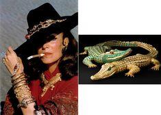 Maria Félix et ses bijoux réalisés par Cartier