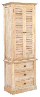 Nantucket Tall Shutter Cabinet