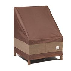 """Fits Chairs up to 30"""" wide. These covers are the """"ultimate"""" because they are ideal for use in harsh weather and strong wind conditions. #Duck Covers Ultimate Ser..."""