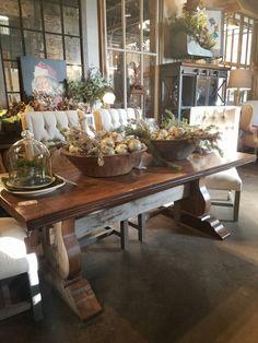 Urban Farmhouse Style Decor Dough Bowl Farm Life Nooks Cabin Industrial Deko
