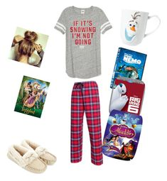 """""""Snowed in with some Disney movies!!👌"""" by raquate1232 ❤ liked on Polyvore featuring Boxercraft, Accessorize and Disney"""