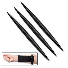 Black Throwing Spikes For Sale | All Ninja Gear: Largest Selection of Ninja Weapons | Throwing Stars | Nunchucks