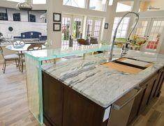 Hurricane granite 5 30 12 granite countertops installed in for Granite overhang limit