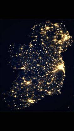 NASA released this amazing photo of Ireland last night.
