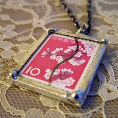The artsy blog of Lisa Whipkey and shop news from Tree By Sea Jewelry and Art: How to Make Jewelry from Glass Microscope Slides & Solder