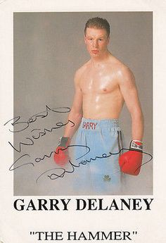 Garry mark delaney real life boxer #murderer the hammer #signed rare #boxing phot,  View more on the LINK: 	http://www.zeppy.io/product/gb/2/371718428129/