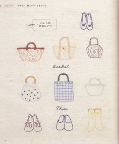 embroidery bags & shoes