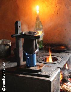 Café no fogão a lenha- Serra do Cipó
