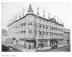 Corner of Merrick and James, 1857 Hamilton Ontario Canada, First Class Hotel, The Province, Vintage Photography, Historical Photos, North West, Vintage Photos, Beautiful Places, Corner