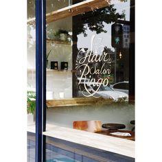 09 Signwriting, Salon Interior Design, Fast Food Restaurant, Dream Rooms, Color Blocking, Signage, Salons, Typography, Branding