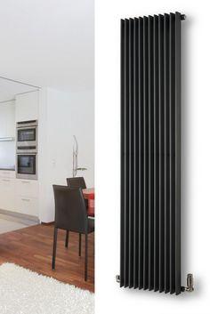 White Home Radiators Home Radiators, Modern Radiators, Victorian Hallway Tiles, Flat House Design, Vertical Radiators, Designer Radiator, Automotive Furniture, Flat Ideas, House Inside