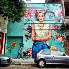 Essa loja de Buenos Aires tem a melhor fachada. Foto da @florenbe