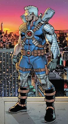 Cable (Nathan Summers)   art by Yildiray Cinar