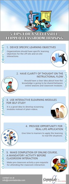 5 Tips for Using Flipped #Classrooms Effectively – An Infographic