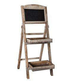 Take a look at this Antique White Standing Chalkboard by Designs Combined Inc. on #zulily today!