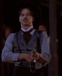 Discover & share this Tombstone GIF with everyone you know. GIPHY is how you search, share, discover, and create GIFs. Tombstone Movie Quotes, Tombstone 1993, Movie Gifs, Movie Tv, Doc Holliday Tombstone, Cowboy Films, Im Your Huckleberry, Val Kilmer, Art Of Manliness