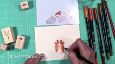 New Clay Pot Mini Watercolor Project Instructions. This Clay Pot set creates beautiful Fall scenes and can be altered for any season. +++++ SUPPLIES +++++ • ...