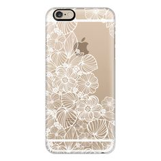 iPhone 6 Plus/6/5/5s/5c Case - My white garden ($40) ❤ liked on Polyvore featuring accessories, tech accessories, phone cases, cases, cover, phone, iphone case, iphone 5 cover case, apple iphone cases and iphone cases