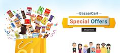 Online Grocery Shopping Store – BazaarCart is a leading Online Departmental Store in Delhi, Noida, Ghaziabad to shop Groceries & other Daily Need Products. Get best price and free home delivery in Delhi NCR. http://www.bazaarcart.com/
