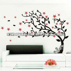 arbol pintado en pared - Buscar con Google