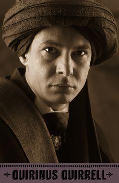 Quirinus Quirrell, Defence Against the Dark Arts professor. #HarryPotter #Hogwarts #Ravenclaw #Quirrell