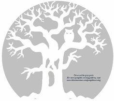 1000 images about pumpkin patterns on pinterest pumpkin for Spooky owl pumpkin stencil