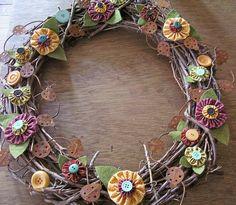 yo yo wreath