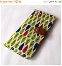 15% OFF  Handmade Bifold Wallet Long Wallet Women's by soarshadow