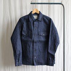 Baker Shirt #indigo