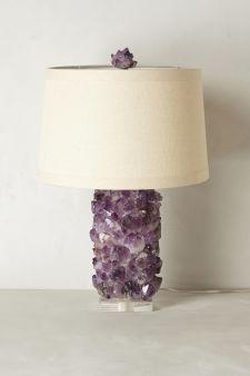 c5c8a2d982f Amethyst Crystal Lamp Base Crystal Decor