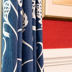Close-up drapes and red grass cloth. This dining room was one of the first projects that we did for a lovely family in Mount Pleasant several years ago. See more projects by visiting the link on our profile. . . . #instadecor #style #luxury #home #homedecor #instagood #instaluxe #interiordesign #design123 #designafi #diningroom #wallpaper #grasscloth #drapes