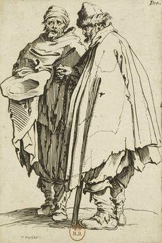 Jacques Callot – Les Gueux: Un ciego y su compañero (1622)