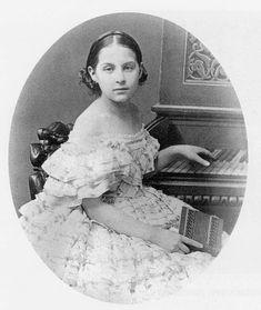 Little Gdss Olga Konstantinova Konstantinovna, later Queen of the Hellenes. Late 1850s.