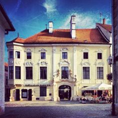 One of many palaces in #varazdin.