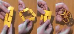 How to Make a Crazy Shapeshifter Toy Out of a Sheet of Paper