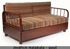 Bydlení – historie bydlení, meziválečná první Československá republika Retro Furniture, Art Deco, Couch, Bed, Vintage, Home Decor, Boho Room, Indoor, Settee