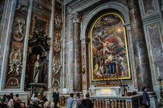 Bazilica Sf. Petru din Vatican  Bazilica Sf. Petru din Vatican, mai mult decât o catedrală - galerie foto.  Vezi mai multe poze pe www.ghiduri-turistice.info Vatican, Sf, Painting, Painting Art, Paintings, Vatican City, Painted Canvas, Drawings