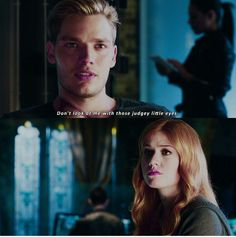 Awww Jace and Clary #clace ➰➰➰