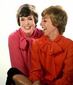 Julie Andrews + Carol Burnett = Best Friends Forever!