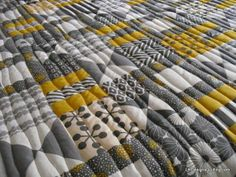 Soft wavy quilting designs with Quilter's Dream Puff batting, perfect!
