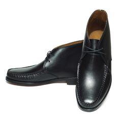 Ralph Lauren Enville ラルフローレン モカシン チャッカーブーツ レザーシューズ ドレスシューズ 革靴【$495】[024]