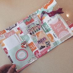 snail mail/penpal folder